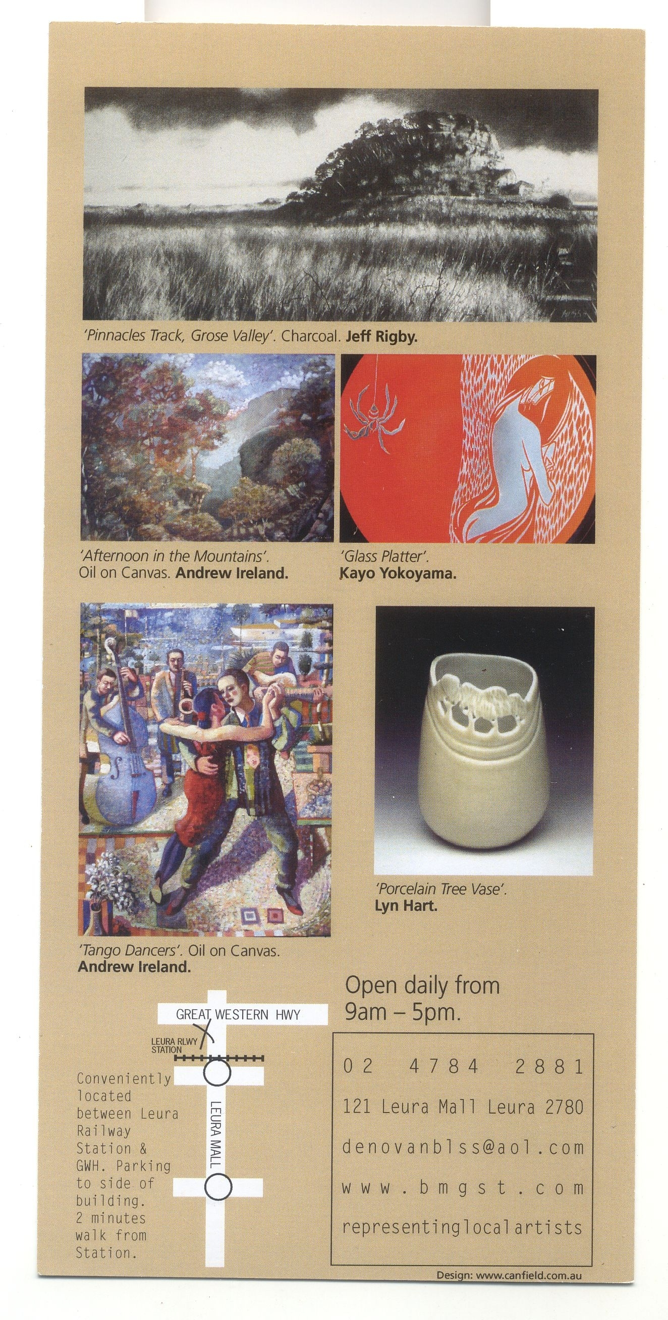 Leura Exhibition Gallery card