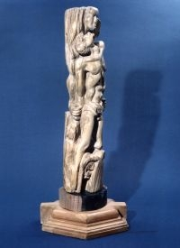 Pieta Handcarved 700 year old timber