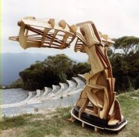 Wooden Whale Tail